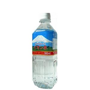 富士山のおいしい水イオン水 500ml×24本/箱 【5年保存・防災備蓄可】 - 拡大画像