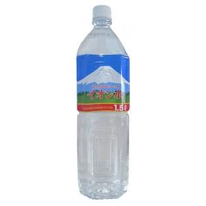 富士山のおいしい水イオン水 1,500ml×8本/箱 【5年保存・防災備蓄可】 - 拡大画像