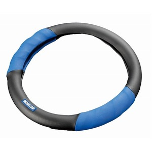 SPARCO(スパルコ) ステアリングカバーSサイズ BLUE/BLACK(レザー) SPC1100LJSの詳細を見る