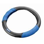 SPARCO(スパルコ) ステアリングカバーSサイズ BLUE/BLACK(レザー) SPC1100LJS