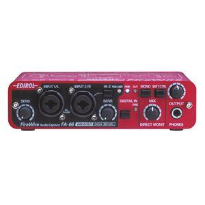 Roland(ローランド) オーディオ・インターフェイス FireWire AUDIO CAPTURE FA-66 - 拡大画像