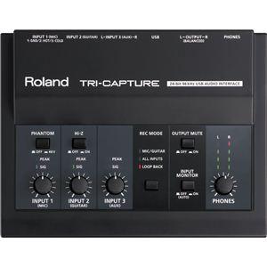 Roland(ローランド) USBオーディオ・インターフェース USB Audio Interface TRI-CAPTURE UA-33 - 拡大画像