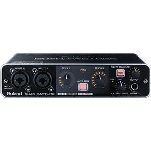 Roland(ローランド) USB 2.0オーディオ・インターフェース USB Audio Interface QUAD-CAPTURE UA-55 - 拡大画像