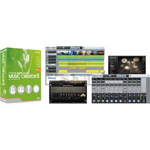Roland(ローランド) 音楽制作ソフトウェア Cakewalk(ケークウォーク) Music Creator(ミュージック・クリエーター) 5 CW-MC5 - 拡大画像