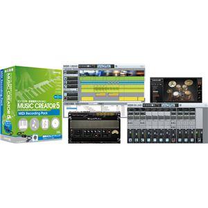 Roland(ローランド) 音楽制作ソフトウェア Cakewalk(ケークウォーク) Music Creator(ミュージック・クリエーター) 5 MIDI REC Pack CW-MC5UM1 - 拡大画像