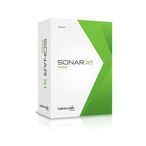 Roland(ローランド) 音楽制作ソフトウェア CAKEWALK(ケークウォーク) SONAR X1 STUDIO DAW Software for Windows CW-SX1SE - 拡大画像