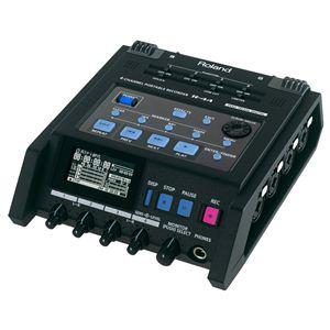 Roland(ローランド) 4チャンネル・フィールド・レコーダー 4-Channel Portable Recorder R-44 - 拡大画像
