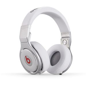 Beats by Dr. Dre Beats Pro プロフェッショナルDJヘッドホン/ホワイト BT OV PRO WHT - 拡大画像