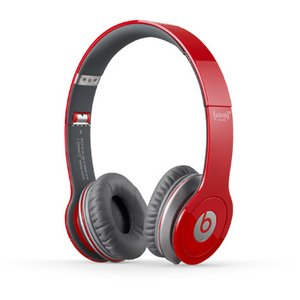 Beats by Dr. Dre Beats Solo HD オンイヤー・ヘッドフォン with コントロールトーク/レッド BT ON SOLOHD RED - 拡大画像