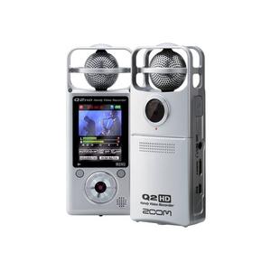 ZOOM ズーム Q2HD ハンディ・ビデオ・レコーダー - 拡大画像