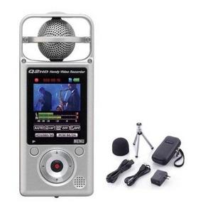 ZOOM ズーム Q2HD + APQ-2HD  ハンディ・ビデオ・レコーダー アクセサリーパックセット - 拡大画像