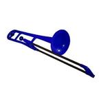 p Bone ピー・ボーン (Blue) プラスチック製 トロンボーン pbone