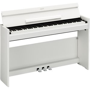 YAMAHA(ヤマハ) YDP-S51WH ホワイトウッド調 電子ピアノ - 拡大画像