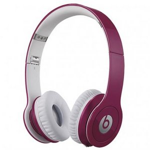 Beats by Dr. Dre  Solo HD オンイヤー・ヘッドフォン with 3 button-mic/ピンク BT ON SOLOHD PNK - 拡大画像