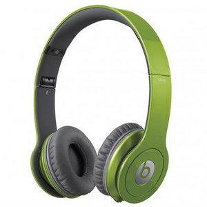 Beats by Dr. Dre  Solo HD オンイヤー・ヘッドフォン with 3 button-mic/グリーン BT ON SOLOHD GRN - 拡大画像