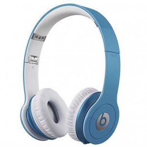 Beats by Dr. Dre  Solo HD オンイヤー・ヘッドフォン with 3 button-mic/ライトブルー BT ON SOLOHD LBL - 拡大画像