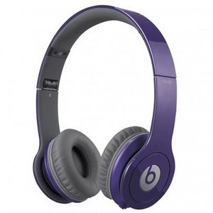 Beats by Dr. Dre  Solo HD オンイヤー・ヘッドフォン with 3 button-mic/パープル BT ON SOLOHD PRP - 拡大画像
