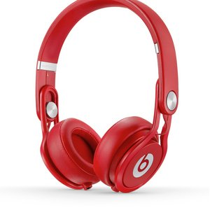Beats by dr.dre / BT ON MIXR RED    Beats Mixr プロフェッショナル・ヘッドホン/レッド - 拡大画像