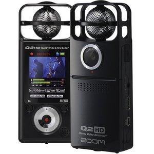 ZOOM ズーム Q2HD/B ハンディ・ビデオ・レコーダー - 拡大画像