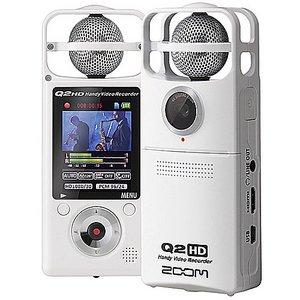 ZOOM ズーム Q2HD/W ハンディ・ビデオ・レコーダー - 拡大画像