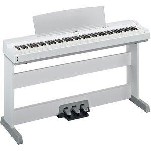 YAMAHA(ヤマハ) P-255WH 電子ピアノ 専用スタンド&ペダルユニットセット