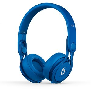 Beats by dr.dre  Mixr Colr Blue  ハイパフォーマンス・プロフェッショナル・ヘッドホン/カラーブルー   BT ON MIXR C-BLU - 拡大画像