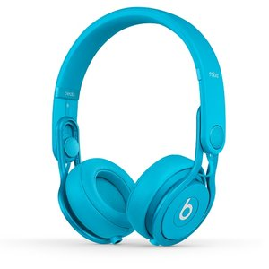 Beats by dr.dre  Mixr Colr Light Blue  ハイパフォーマンス・プロフェッショナル・ヘッドホン/カラーライトブルー  BT ON MIXR C-LBL - 拡大画像