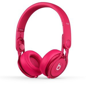 Beats by dr.dre  Mixr Colr Pink  ハイパフォーマンス・プロフェッショナル・ヘッドホン/カラーピンク  BT ON MIXR C-PNK - 拡大画像