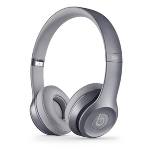 Beats by Dr. Dre Solo2 オンイヤーヘッドフォン - ストーングレー  Solo2 Stone Grey - 拡大画像