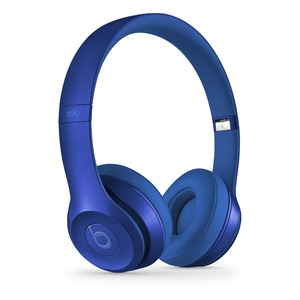 Beats by Dr. Dre Solo2 オンイヤーヘッドフォン - サファイアブルー  Solo2 Sapphire Blue - 拡大画像