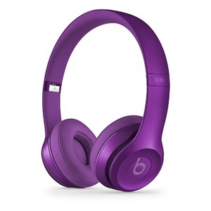 Beats by Dr. Dre Solo2 オンイヤーヘッドフォン - インペリアルヴァイオレット  Solo2 Imperial Violet - 拡大画像