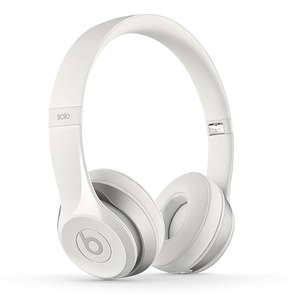 Beats by Dr. Dre Solo2 Wireless White 密閉型ワイヤレスオンイヤーヘッドホン ホワイト - 拡大画像