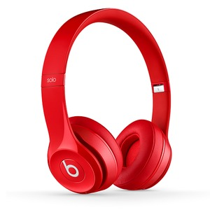 Beats by Dr. Dre Solo2 Wireless Red 密閉型ワイヤレスオンイヤーヘッドホン レッド - 拡大画像