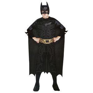 RUBIE'S(ルービーズ) BATMAN(バットマン) コスプレ Child Batman(バットマン) Lサイズ - 拡大画像