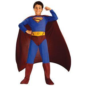 RUBIE'S(ルービーズ) SUPERMAN(スーパーマン) コスプレ Child Superman(スーパーマン) Lサイズ - 拡大画像