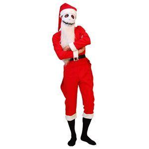 RUBIE'S(ルービーズ) DISNEY(ディズニー) コスプレ THE NIGHTMARE BEFORE CHRISTMAS(ナイトメアー・ビフォア・クリスマス) Adult Santa Jack(サンタ ジャック) Stdサイズ - 拡大画像