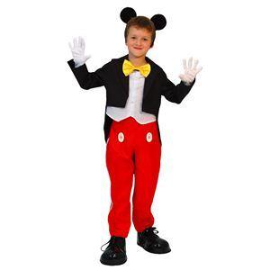 RUBIE'S(ルービーズ) DISNEY(ディズニー) コスプレ Child Mickey(ミッキー) Lサイズ - 拡大画像