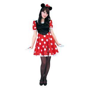 RUBIE'S(ルービーズ) DISNEY(ディズニー) コスプレ Adult Pretty Minnie(プリティー ミニー) Stdサイズ - 拡大画像