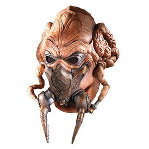 RUBIE'S(ルービーズ) STAR WARS(スターウォーズ) マスク(コスプレ用) Plo Koon Latex Mask(プロ クーン ラテックス マスク) - 拡大画像
