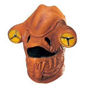 RUBIE'S(ルービーズ) STAR WARS(スターウォーズ) マスク(コスプレ用) Admiral Ackbar Latex Mask(アクバー提督 ラテックス マスク) - 拡大画像