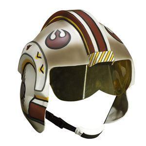 RUBIE'S(ルービーズ) STAR WARS(スターウォーズ) マスク(コスプレ用) Collectors' Helmets X-wing Fighter(コレクションズ ヘルメッツ Xウイング ファイター) - 拡大画像