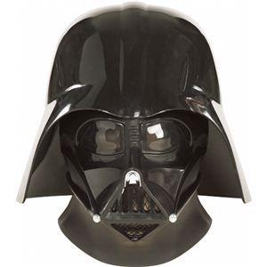 RUBIE'S(ルービーズ) STAR WARS(スターウォーズ) マスク(コスプレ用) Super Deluxe Darth Vader 2pc Mask(スーパー ダース・ベイダー 2pc マスク) - 拡大画像