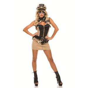 Forplay(フォープレイ) コスプレ Sizzlin' Sheriff カーキー S/Mサイズ