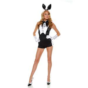 Forplay(フォープレイ) コスプレ Plush Bunny ブラック S/Mサイズ
