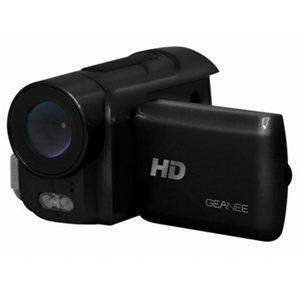 geanee 赤外線搭載ハイビジョンムービーカメラ DV310 - 拡大画像