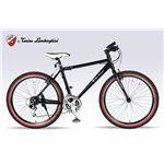 Lamborghini(ランボルギーニ) 自転車 クロスバイク 26・18SP TL-972 BLACK