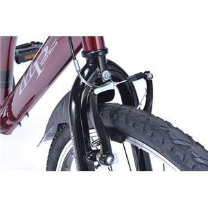 MYPALLAS(マイパラス) クロスバイク26・6SP・リアサス TypeIII M-650-3 ボルドー