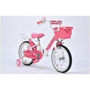 MYPALLAS(マイパラス) 子供用自転車16・補助輪付 MD-12 ピンク