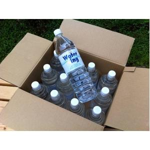 安心・安全な水◇ピュアウォーター 1.5L(1500ml)ペットボトル×12本入り×2箱 - 拡大画像