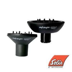 Solis(ソリス) ソフトスタイラー S ブラック (ドライヤー I311・315専用) - 拡大画像